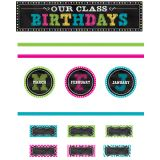 Chalkboard Brights Mini Bulletin Board Set