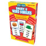 Slide & Learn® Flash Cards, Word Families: Short U