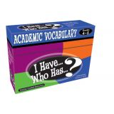 I Have...Who Has...? Academic Vocabulary, Grades 3-4