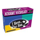I Have...Who Has...? Academic Vocabulary, Grades 4-5