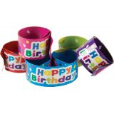 Slap Bracelets, Happy Birthday Balloons