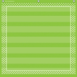 7-Pocket Pocket Chart, Lime Polka Dots