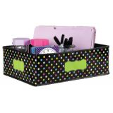 Chalkboard Brights Storage Bin, Medium