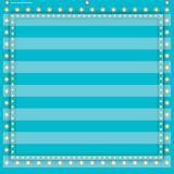 7-Pocket Pocket Chart, Light Blue Marquee, 28 x 28