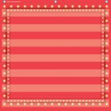 7-Pocket Pocket Chart, Red Marquee, 28 x 28