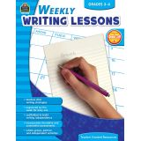 Weekly Writing Lessons, Grades 3-4