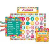 Tropical Punch Calendar Bulletin Board Set