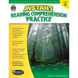 Instant Reading Comprehension Practice, Grade 4