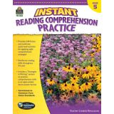 Instant Reading Comprehension Practice, Grade 5