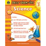 Science Daily Warm-Ups, Grade 3