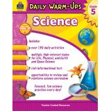 Science Daily Warm-Ups, Grade 5