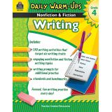 Daily Warm-Ups: Nonfiction & Fiction Writing, Grade 4