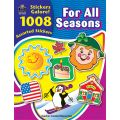 For All Seasons Sticker Book, 1,008 Stickers