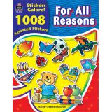 For All Reasons Sticker Book, 1,008 Stickers