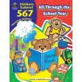 All Through the School Year Sticker Book, 567 Stickers