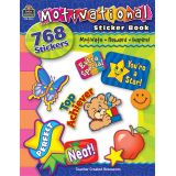 Motivational Sticker Book, 786 Stickers