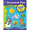 Seasonal Fun Sticker Book, 1,514 Stickers