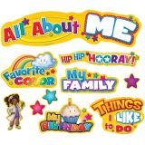 All About Me Mini Bulletin Board Set