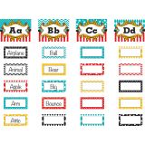 Carnival Alphabet Word Wall Bulletin Board Set