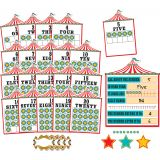 Carnival Numbers 0–20 Bulletin Board Set