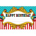 Carnival Happy Birthday Awards
