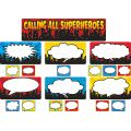 Calling All Superheroes Mini Bulletin Board Set