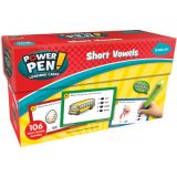 Power Pen Learning Cards, Short Vowels