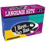 I Have...Who Has...? Language Arts, Grades 3-4