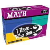 I Have...Who Has...? Math, Grades 3-4