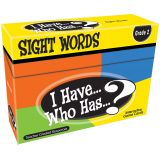 I Have...Who Has...? Sight Words Games, Grade 2