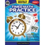 Minutes to Mastery: Timed Math Practice, Grade 1