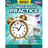 Minutes to Mastery: Timed Math Practice, Grade 6