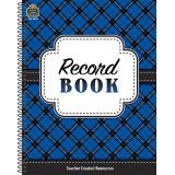 Plaid Record Book