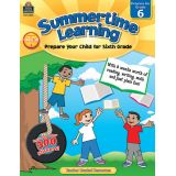 Summertime Learning, Grade 6