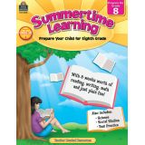 Summertime Learning, Grade 8