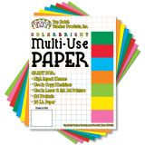 Copyweight Paper, 8 1⁄2 x 11, Assorted 8 Colors