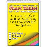 Brite Chart Tablet, 24 x 32, 1 Ruled