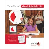 Time Timer Visual Schedule Kit, For 12 Time Timer