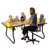 Toddler Table, 8-Seat, 72L x 48W x 27H