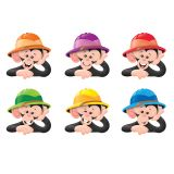 Monkey Mischief® Hats Mini Accents Variety Pack
