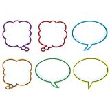 Speech Balloons Classic Accents® Variety Pack