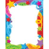 Praise Words & Stars Terrific Papers®