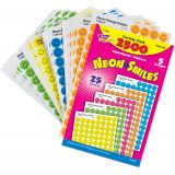 superSpots® & SuperShapes Variety Pack, Neon Smiles