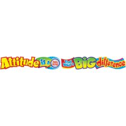 Attitude is a little thing that makes a BIG difference! Quotable Expressions® Banner