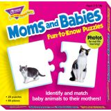 Fun-to-Know® Puzzles, Moms and Babies