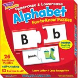 Fun-to-Know® Puzzles, Uppercase & Lowercase Alphabet