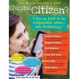Digital Citizenship Learning Chart, Secondary