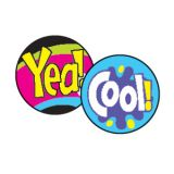 Cool Words superSpots® Stickers