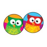 Owl-Stars!® super-Spots® Stickers, 800
