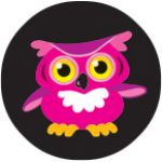 Bright Owls superSpots® Stickers